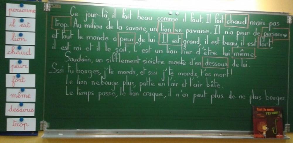 Classe de CP –                                                                                                                      Ecole Raoul François – Arras